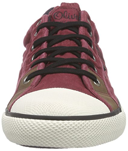 s.Oliver 13622, Baskets Basses homme Rouge - Rot (BORDEAUX 549)