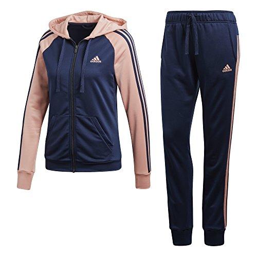 adidas Damen RE-Focus TS Trainingsanzug, Collegiate Navy/Trace Pink f17, M