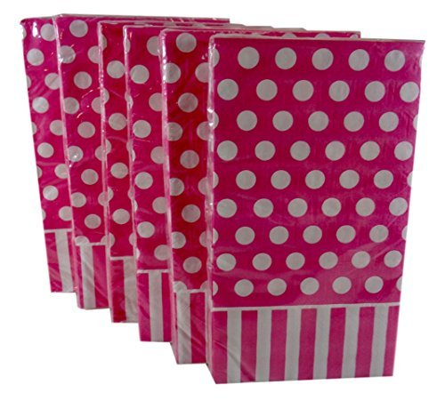 bulk-buy-hot-pink-polka-dot-stripe-paper-guest-towels-dinner-napkins-by-greenbrier-international