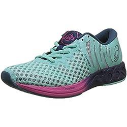 Asics Noosa FF 2, Zapatillas de Entrenamiento para Mujer, Azul (Aruba Blue/Indigo Blue/Fuchsia Purple 8849), 39 EU