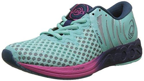 Asics Noosa FF 2, Zapatillas de Entrenamiento para Mujer, Azul (Aruba Blue/Indigo Blue/Fuchsia Purple 8849), 44.5 EU