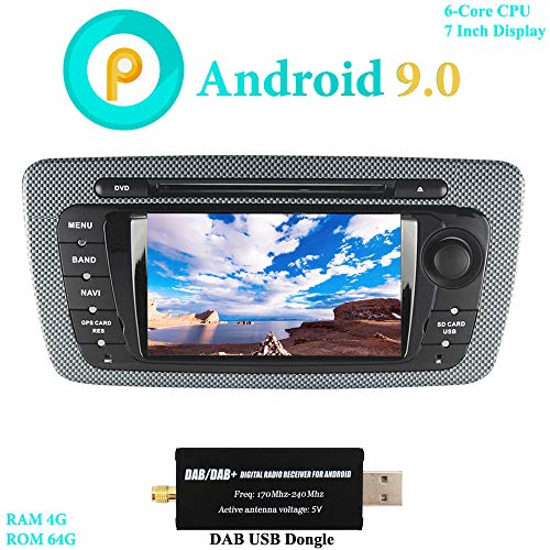 XISEDO 7 Pulgadas Android 9.0 Autoradio In Dash Radio de Coche 6-Core...