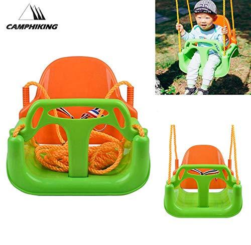 haukel Sitz Baby Schaukel - Hängeseil Kleinkindschaukel Mit Sicherheitsschaukelsitz - Draussen Innen Schaukel Für Kinder, Bestes Geburtstagsgeschenk ()