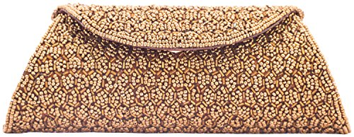 Kleio Women's Clutch (Brown)