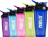 Proelite Smart Blender Bottle Shaker Cup - Neon
