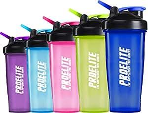 Proelite Smart Blender Bottle Shaker Cup - Neon Green, 750 ml