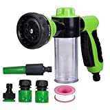 Best Hose Nozzles - Lanktoo Garden Hose Nozzle Hand Sprayer, Heavy Duty Review