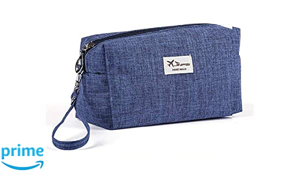 3802f11fb6 Buy Egab pack 2 Toiletry Bag cum Cosmetic Pouch Organizer (Navy Blue)  Online at Low Prices in India - Amazon.in