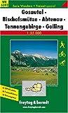 Gosautal, Bischofsmütze, Abtenau, Tennengebirge, Golling 1 : 35 000. Serie Wandern + Freizeit spezial. (WK 5392). Ortsregister