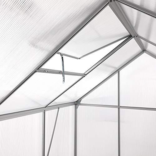 Aluminium Gewächshaus von Zelsius - 11