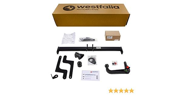 Westfalia Abnehmbare Anhängerkupplung Ahk Für Dacia Duster Bj 03 2010 12 2017 Im Set Mit 13 Poligem Fahrzeugspezifischen Elektrosatz Auto