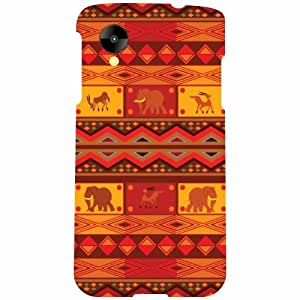 Printland LG Nexus 5 LG-D821 Back Cover High Quality Designer Case