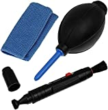 Professional Lens Cleaning Kit Set With Pen Cloth Air Blower for Cameras(Canon,Nikon,Pentax,Sony)