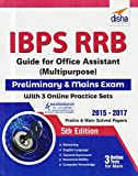 #5: IBPS RRB Guide for Office Assistant (Multipurpose) Preliminary & Mains Exam with 3 Online Practice Sets