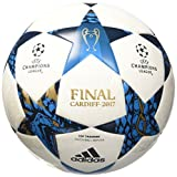 adidas Finale Cardiff Top Fußball, White/Mystery Blue S17/Cyan S09, 5