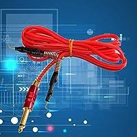 RoadRomao Cable de Silicona para Tatuaje Accesorios de alimentación eléctrica 2m