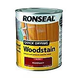 Ronseal 30137750ml Holzbeize schnelltrocknend, glänzend Mahagoni