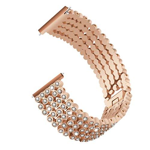 Armband für Fitbit Versa Uhrenarmband Crystal Crystal Ersatz CICIYONER