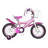 #5: Brooks Star 14 Bike, Kids One Size (White/Pink)