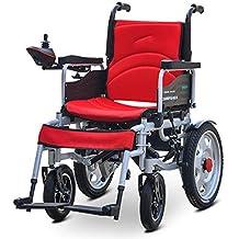 Dapang Silla de Ruedas eléctrica Ancianos Coche discapacitado Ancianos Inteligente Scooter portátil automático Multifuncional Plegable,