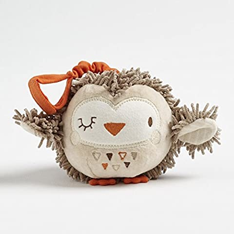 Woodland Friends Ollie Owl Jingle Ball Tag On Toy by Woodland Friends Ollie Owl Jingle Ball Tag On Toy