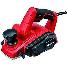 Einhell TC-PL 750 - Cepillo electrónico, 750 W, 220 - 240 V, color rojo y negro