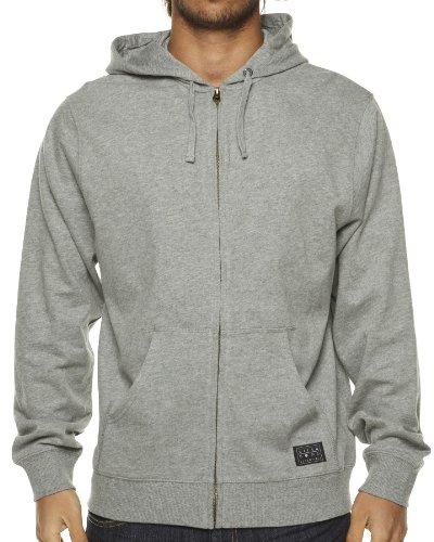 Billabong - Maglia, jumper, cappuccio, uomo grigio
