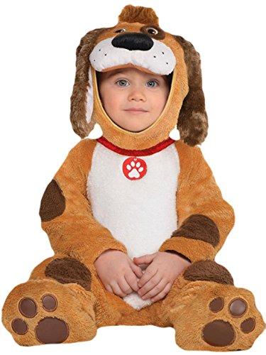erdbeerloft - Unisex - Baby Karneval Kostüm Hündchen , Hellbraun, Größe 80-, 1- Jahre