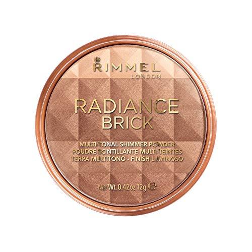 RIMMEL numéro 001 rayonnement brique bronzage, 12 g - Clair, Light