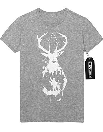 """T-Shirt Harry Potter Phantastische Tierwesen und wo sie zu finden sind """"DEER"""" C983064 Grau"""