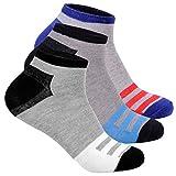 L&K 12 Paar Herren Sneaker Socken Baumwolle Sportsocken atmungsaktiv 2121