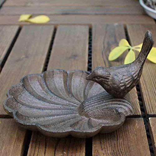 XHCP Europäische Gusseisen Handwerk Vogel Muschelförmigen Aschenbecher Kerzenhalter Vogel Schüssel Dekoration Ornamente