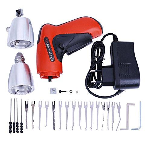 DBH-Verschluss-Auswahl-Gewehr-Set, Schlosser-Verschluss-Auswahl-Gewehr mit Verschluss-Auswahl-Tür-Verschluss-Öffner (Klom Elektroschloss Pick Gun) (Gewehr-lock)