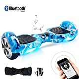 BEBK Hoverboard 6,5 Pouces Self Balance Scooter Overboard Adulte Enfant Smart Scooter Electrique Auto-Équilibrage Gyroscooter Skateboard 2x350W Moteurs Plusieurs Couleurs Disponibles