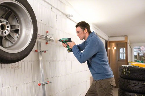 Bosch DIY Akku-Bohrhammer Uneo Maxx, Akku, Ladegerät, 2 Bohrer, 4 Bits, Koffer (18 V, 2,0 Ah, max. Bohr-Ø Stahl: 8 mm, Beton: 10 mm, Holz: 10 mm) - 4