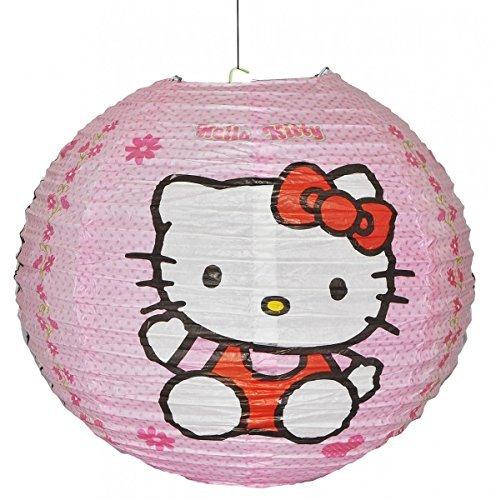Hello Kitty-Abat-jour pour suspension Lanterne en Papier-Abat-jour