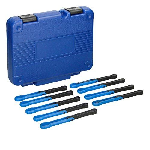 ECD Germany Entriegelungswerkzeug 12 tlg. Universelles KFZ Lösewerkzeug Set passend für Rundsteck- und Flachsteckkontakte für alle Fahrzeugtypen inkl. Koffer - 2