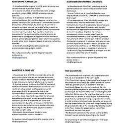 """ACBK Hover Patinete Eléctrico Autoequilibrio 6,5"""" (Rojo)"""