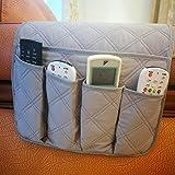 Bolsa multiusos con 6bolsillos para almacenamiento en el sofá, para guardar mando a distancia,...