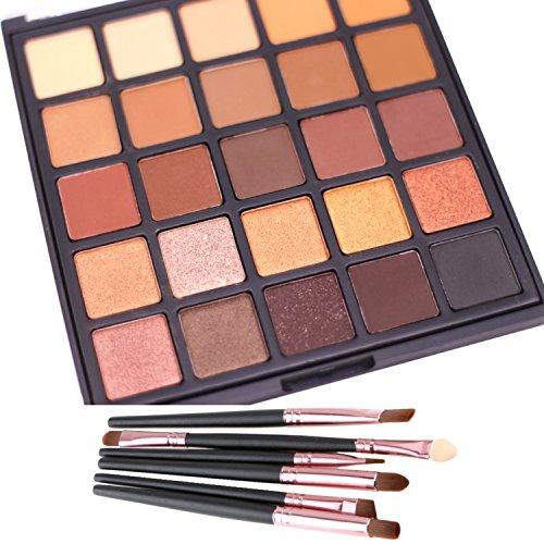 glitter-palette-di-ombretti-lover-bar-25-smoky-warm-color-kit-ombretti-make-up-pennelli-set-nude-mat