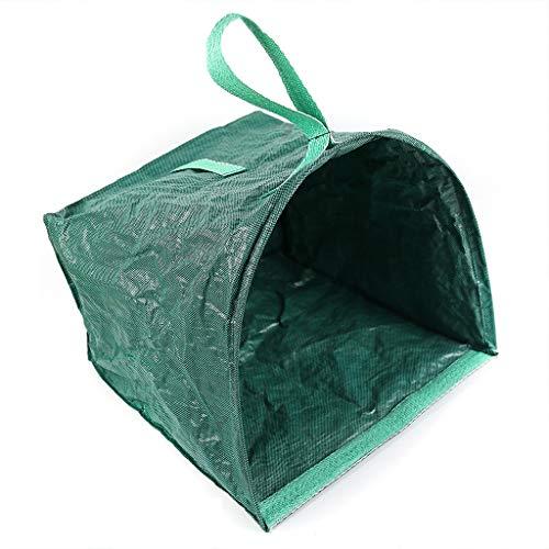 KINTRADE Wiederverwendbare Rasen-Blatt-Taschen-Garten-zusammenklappbare Nicht gesponnene Blätter Schaufel für Yard-Abfall-Behälter-Garten-Reinigungs-Versorgungsmaterial (Wiederverwendbare Rasen-taschen)