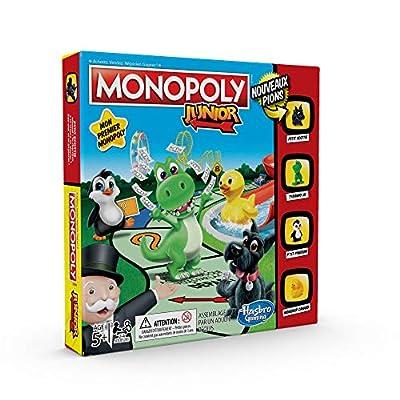 Monopoly - Jeu de societe Monopoly Junior - Jeu de plateau - Version française