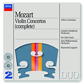 Mozart: Sinfonia concertante for Violin, Viola and Orchestra in E flat, K.364 - 3. Presto