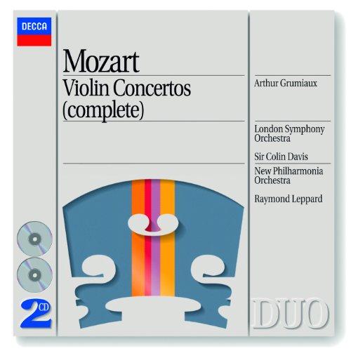 Mozart: Violin Concerto No.5 in A, K.219 - 2. Adagio