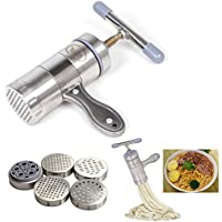 OFKPO Stainless Steel Noodle Maker Manual Noodle Press Pasta Press Machine Kitchen Tool