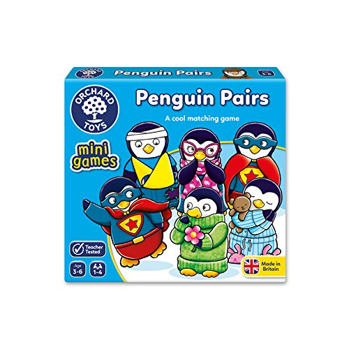 Orchard Toys Penguin Pairs Game Stocking Filler