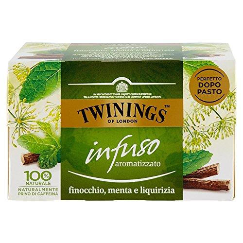 Twinings - Infusi Aromatizzati - Special Edition (Finocchio, Menta e Liquirizia, 40 Bustine)