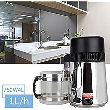 XuanYue Destilación Filtro Purificador 4L Acero Inoxidable Destilador de Agua Máquina para el Agua Destilada Casera