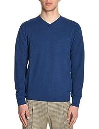 H953 Homme HS185589 Bleu Coton Maille