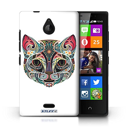 Kobalt® Imprimé Etui / Coque pour Nokia X2 Dual Sim / Chat conception / Série Animaux décoratifs Chat